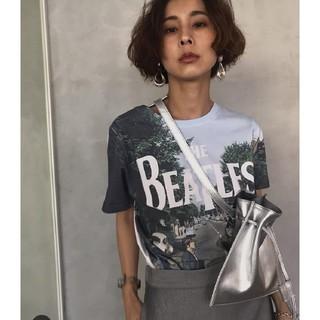 アメリヴィンテージ(Ameri VINTAGE)のアメリヴィンテージ ビートルズコラボTシャツ(Tシャツ(半袖/袖なし))