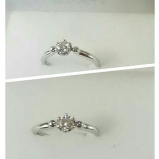 コムサデモード(COMME CA DU MODE)のダイヤモンドリング  ダイヤモンド指輪(リング(指輪))