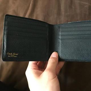 ヴァレクストラ(Valextra)のCamille Fournet 二つ折り財布 マリーン(折り財布)