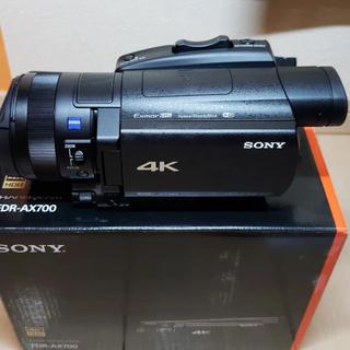 SONY デジタル4Kビデオカメラレコーダー FDR-AX700