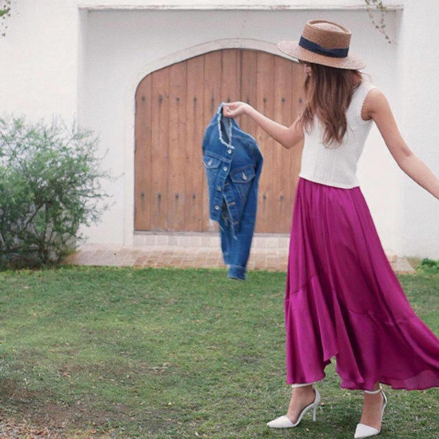rienda(リエンダ)のリエンダ 美品 レディースのスカート(ロングスカート)の商品写真