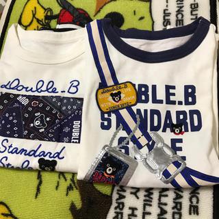 DOUBLE.B - ダブルB Tシャツ140