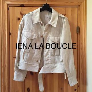 イエナ(IENA)のIENA LA BOUCLEダブルクロスバトルジャケット38(Gジャン/デニムジャケット)