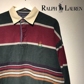 Ralph Lauren - 【CHAPS RALPH LAUREN】90年代ラガーシャツ