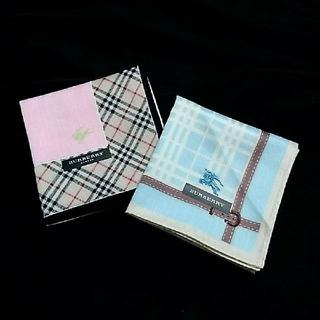 BURBERRY - 【新品】バーバリー ハンカチセット