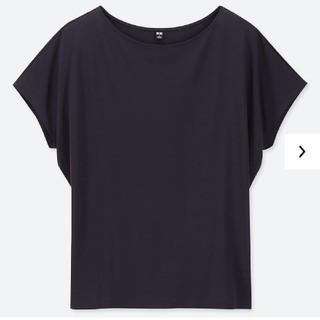 UNIQLO - ユニクロ ドレープクルーネックTシャツ