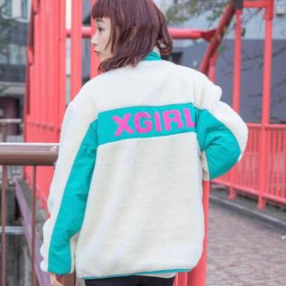X-girl - ボア アノラック ✳