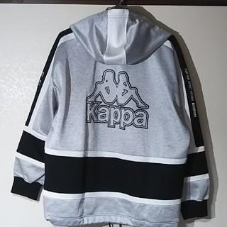 Kappa - KAPPA/カッパ ビッグロゴジャージ セットアップ ブラックxグレー  L
