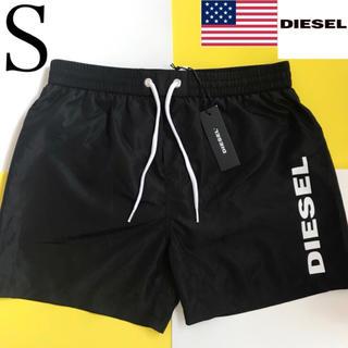 ディーゼル(DIESEL)の【新品】DIESEL ディーゼル USA メンズ 水着 S ブラック(水着)
