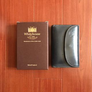 ホワイトハウスコックス(WHITEHOUSE COX)の【とら吉様専用】ホワイトハウスコックス 三つ折り財布 ネイビー×オレンジ(折り財布)
