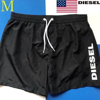 ディーゼル(DIESEL)の【新品】DIESEL ディーゼル USA メンズ 水着 M ブラック(水着)
