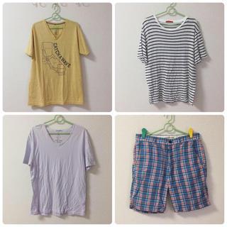 coen - メンズ Tシャツ パンツ セット