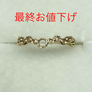 ノジェス(NOJESS)のねね様♡ノジェス K10イエローゴールドリング(リング(指輪))