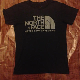 THE NORTH FACE - THE NORTH FACE ロゴTシャツ L ブラック