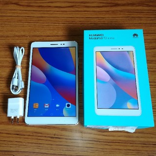 ANDROID - HUAWEI MediaPad T2 8 Pro[LTE] ホワイトSIMフリー