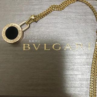 BVLGARI - BVLGARI ネックレス チャーム チェーン付き 正規品 ペンダント