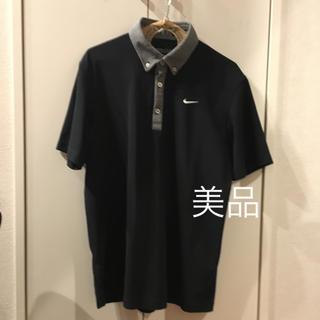 NIKE - 美品❗️NIKE ブラックドライポロシャツ