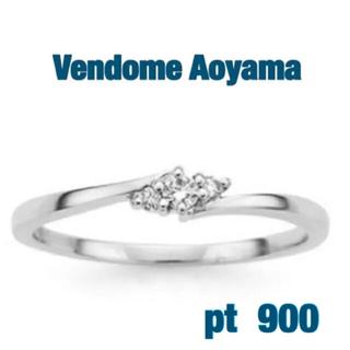 Vendome Aoyama - 限定SALE❣️ (美品)Vendome Aoyama  プラチナ ダイヤリング