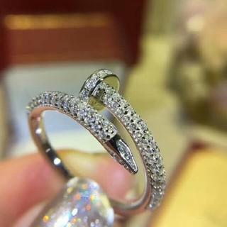 カルティエ(Cartier)のお勧め!Cartier カルティエ  リング(指輪) シルバー  レディース(リング(指輪))