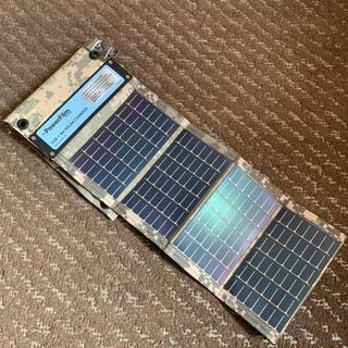 ソーラー PowerFilm USB +AA SOLAR CHRGER