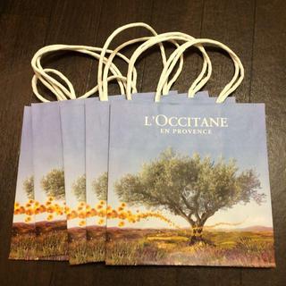 ロクシタン(L'OCCITANE)のロクシタン紙袋 5枚セット(ショップ袋)