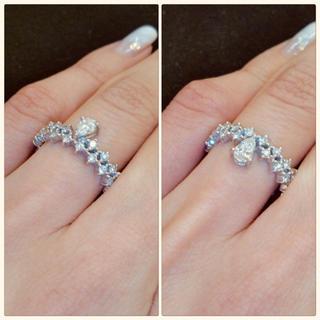 アーカー(AHKAH)のAHKAH アーカー プリマヴェーラ リング k18 ダイヤモンド(リング(指輪))
