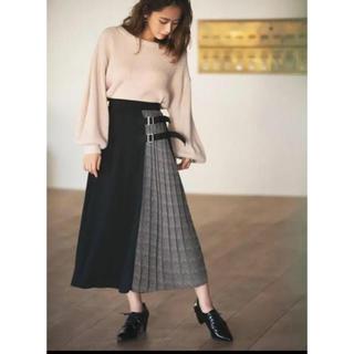 グレイル(GRL)のグレイル レオパードプリーツスカート(ロングスカート)