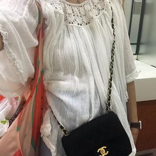 france vintage cotton blouse.