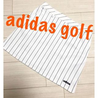 adidas - 極美品♡アディダスゴルフ ストライプ ゴルフ スカート