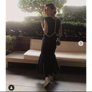 アメリヴィンテージ(Ameri VINTAGE)のameri vintage フレア ビジュー マーメイド ドレス(ロングドレス)