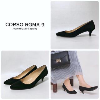DEUXIEME CLASSE - ■定3.2万 CORSO ROMA 9 コルソローマ パンプス 40 25 黒