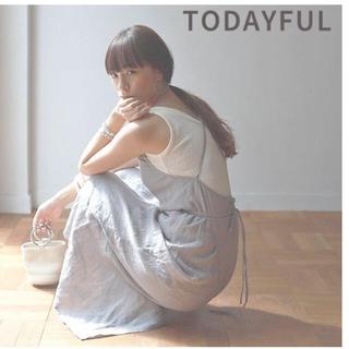 TODAYFUL - TODAYFUL トゥデイフル LIFE's  レディース ワンピース  麻