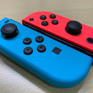 Nintendo Switch - スイッチ ジョイコン 左右 ネオンブルー レッド  M752