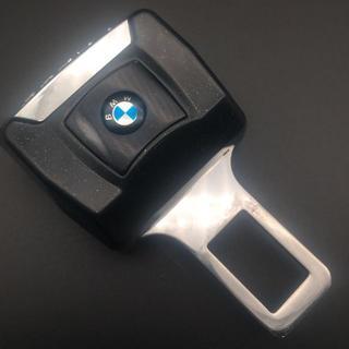 ビーエムダブリュー(BMW)のBMW ロゴ入り ★バックル式 ★延長 シートベルトパーツ★2個セット(車内アクセサリ)