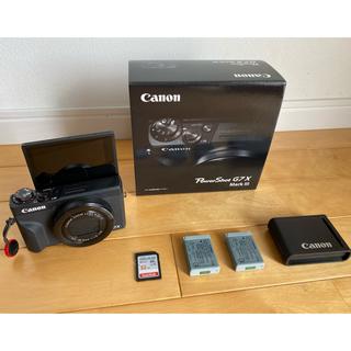 Canon - Canon PowerShot G7X Mark3 ブラック その他特典