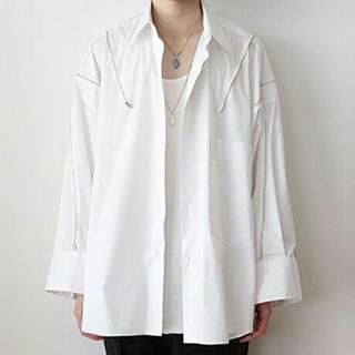 Yohji Yamamoto - ALMOSTBLACK 18SS ジップシャツ