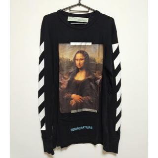 OFF-WHITE - Off-White Mona Lisa long sleeve T オフホワイト