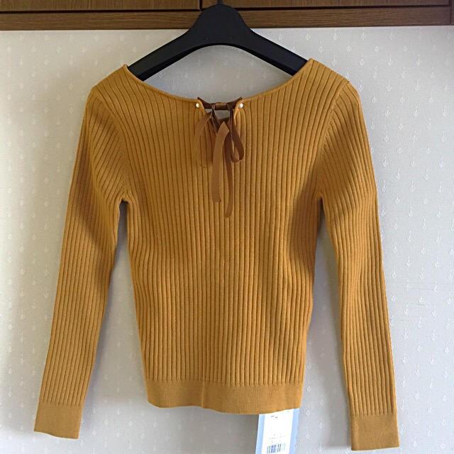 Rirandture(リランドチュール)の3WAY長袖リブニット✨新品タグ付き レディースのトップス(ニット/セーター)の商品写真