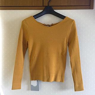 リランドチュール(Rirandture)の3WAY長袖リブニット✨新品タグ付き(ニット/セーター)