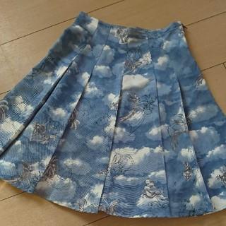 フェンディ(FENDI)の最終値下げします!FENDIフェンディ 上品なスカート(ひざ丈スカート)