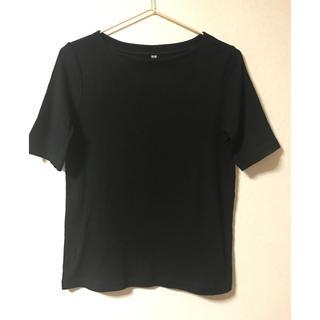 UNIQLO - ユニクロ リブTシャツ