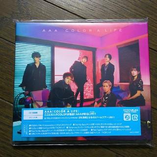 トリプルエー(AAA)のAAA♡アルバム初回盤 COLOR A LIFE(ポップス/ロック(邦楽))