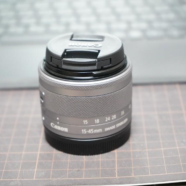 Canon(キヤノン)のcanon kiss M セット (最終値下げ済)(掲載は本日まで) スマホ/家電/カメラのカメラ(ミラーレス一眼)の商品写真