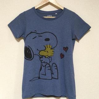 スヌーピー(SNOOPY)のスヌーピー ウッドストックTシャツ♪(Tシャツ(半袖/袖なし))