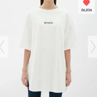 GU - gu オーバーサイズロゴTシャツ S