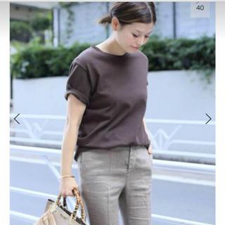 DEUXIEME CLASSE - Deuxieme Classe EVERYDAY T-Shirt 新品 ブラウン