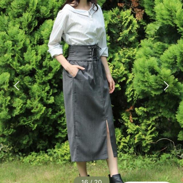 earth music & ecology(アースミュージックアンドエコロジー)のIラインスカート レディースのスカート(ロングスカート)の商品写真