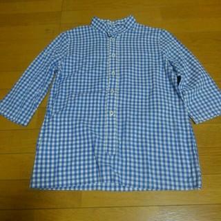 ダントン(DANTON)のSALE ‼ ippei takei ギンガムチェックプルオーバーシャツ(シャツ/ブラウス(長袖/七分))