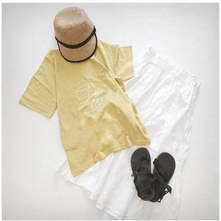SM2 - sm2  レモンジュースプリントTシャツ