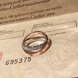 Cartier - カルティエ リング 超美品 指輪 8 結婚式